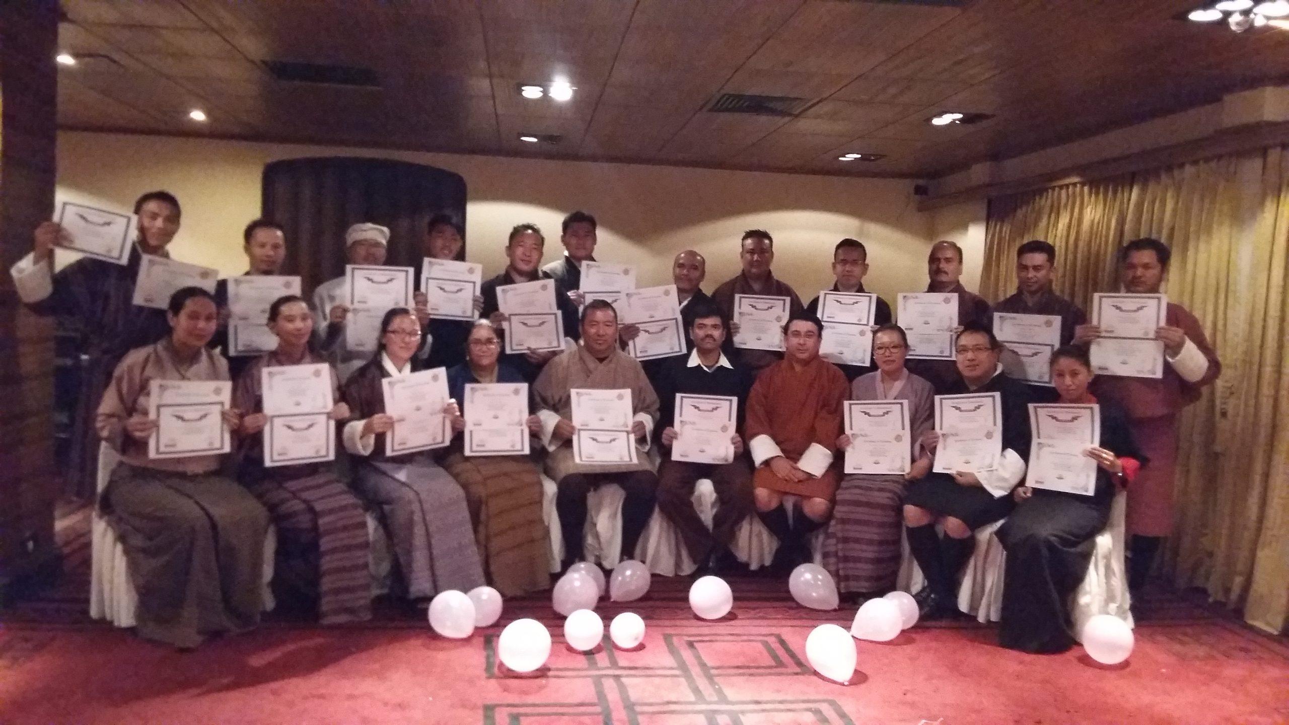 Hotel Druk Certified Trainers